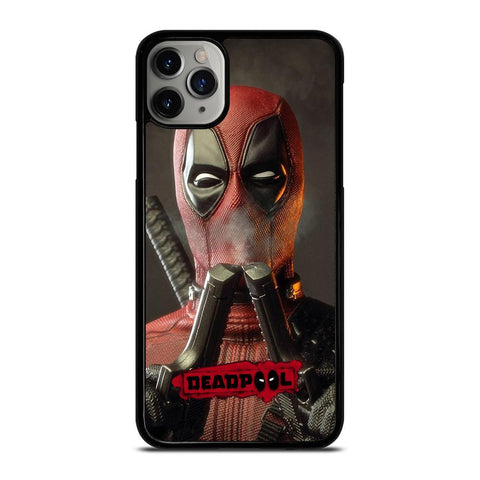 DEADPOLL POTRAIT DOUUBLE PISTOLS iPhone 11 Pro Max Case