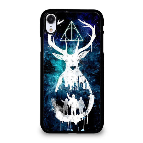 DEATHLY HALLOWS HARRY POTTER AQUARELL-iphone-xr-case