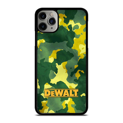 DEWALT LOGO GREEN ARMY iPhone 11 Pro Max Case