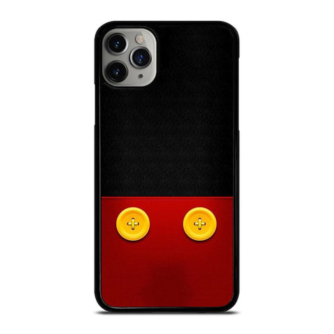 DISNEY MICKEY MOUSE BUTTON iPhone 11 Pro Max Case