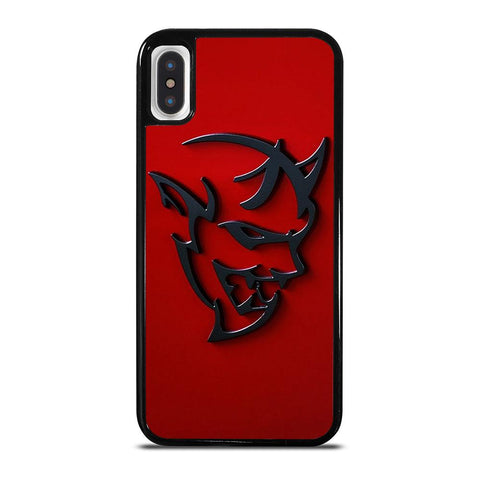 DODGE DEMON LOGO RED iPhone X / XS Case
