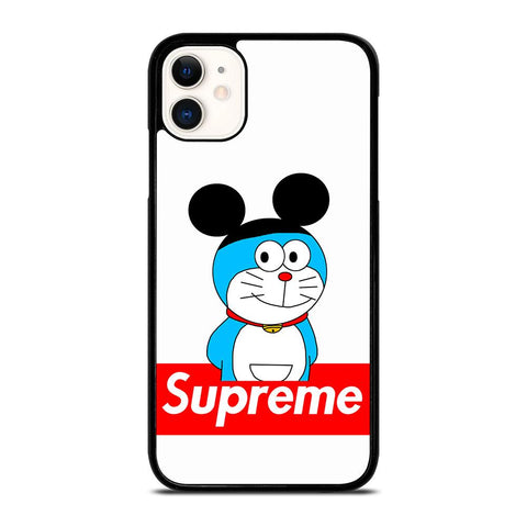 DORAEMON WITH MICKEY SUPREME iPhone 11 Case