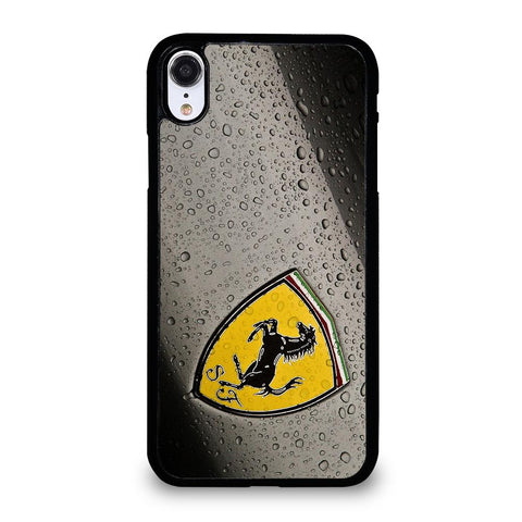 FERARRI EMBLEM-iphone-xr-case