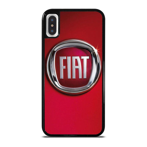 FIAT LOGO RED iPhone X / XS Case