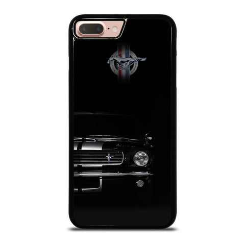 FORD MUSTANG BLACK iPhone 8 Plus Case