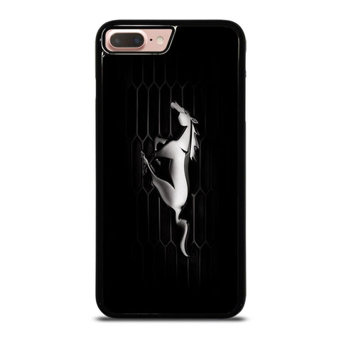 FORD MUSTANG GLOSSY BUMPER iPhone 8 Plus Case