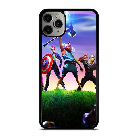 FORTNITE GAME X AVENGERS END GAME iPhone 11 Pro Max Case
