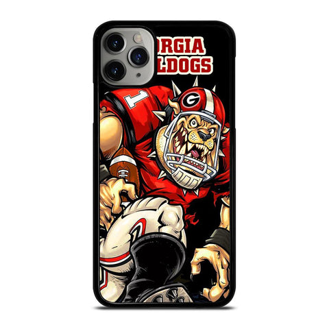 GEORGIA BULLDOGS FOOTBALL-iphone-11-pro-max-case