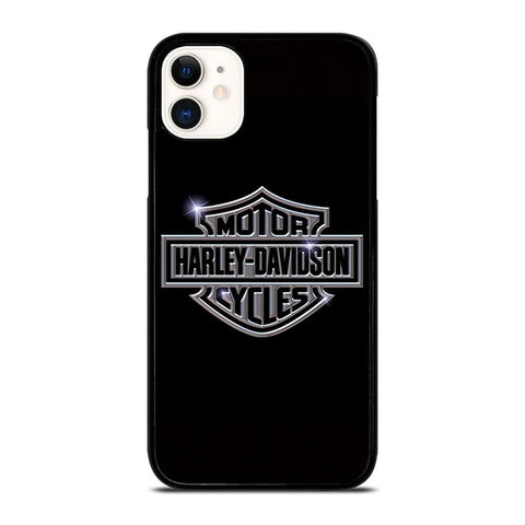HARLEY DAVIDSON LOGO BLACK iPhone 11 Case