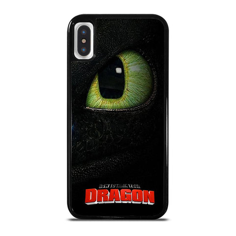 HOW TO TRAIN YOUR DRAGON MOVIE 3 TOOTHLESS iPhone X / XS Case