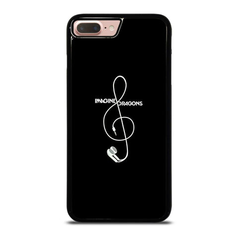 IMAGINE DRAGON EARPHONE iPhone 8 Plus Case