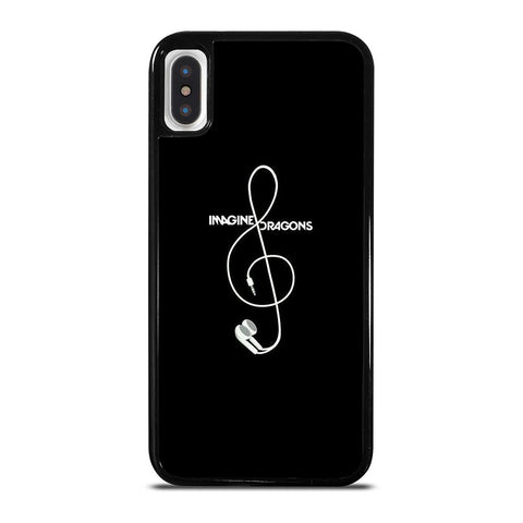 IMAGINE DRAGON EARPHONE iPhone X / XS Case