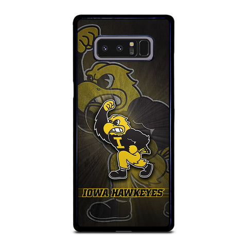 IOWA HAWKEYES FOOT BALL Samsung Galaxy Note 8 Case