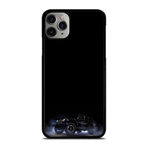 JEEP WRANGLER BLACK FOG iPhone 11 Pro Max Case