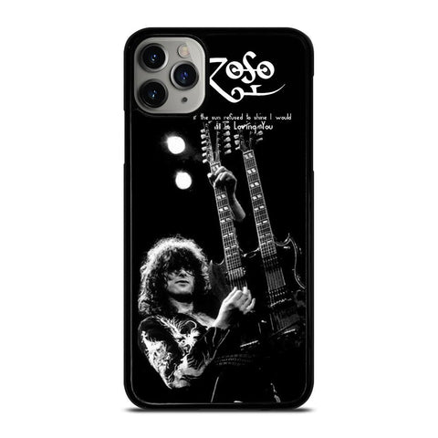 JIMMY PAGE LED ZEPPELIN-iphone-11-pro-max-case