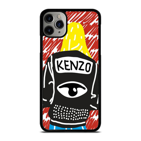 KENZO PARIS ART iPhone 11 Pro Max Case