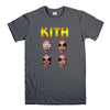 KITH FUNNY MIKE TYSON KISS PARODY-mens-t-shirt-Charcoal