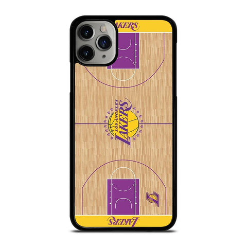 LA LAKERS BASKETBALL FIELD iPhone 11 Pro Max Case