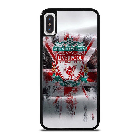 LIVERPOOL FC LOGO ENGLAND FLAG iPhone X / XS Case
