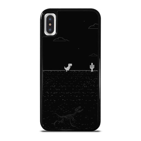 LOST INTERNET T-REX GAME iPhone X / XS Case
