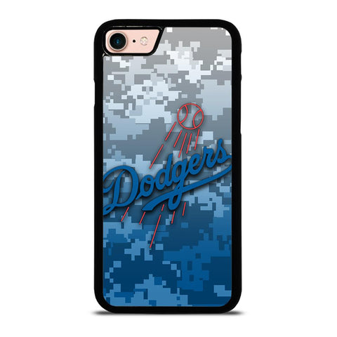 LOS ANGELES DODGERS CAMO-iphone-8-case