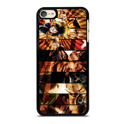 LUFFY ONE PIECE CHARACTER iPod Touch 6 Case