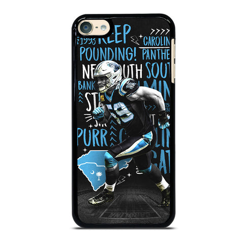 LUKE KUECHLY CAROLINA PANTHERS iPod Touch 6 Case