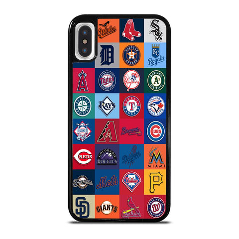 MAJOR BASEBALL LEAGUE CLUB COLLAGE iPhone X / XS Case