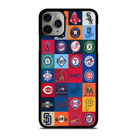 MAJOR BASEBALL LEAGUE CLUB COLLAGE iPhone 11 Pro Max Case
