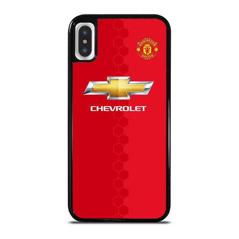 MANCHESTER UNITED NEW JERSEY HOME iPhone X / XS Case