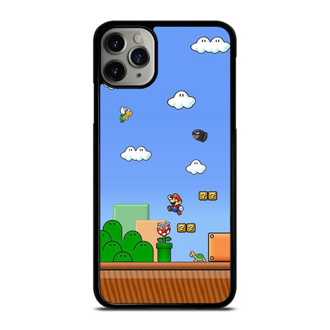MARIO BROSS GAME NINTENDO iPhone 11 Pro Max Case