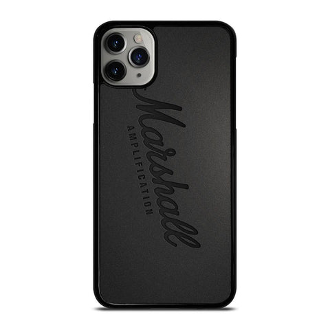 MARSHALL AMPLIFICATION LOGO iPhone 11 Pro Max Case