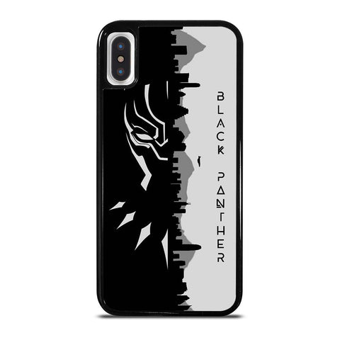 MARVEL BLACK PANTHER BLACK AND WHITE iPhone X / XS Case