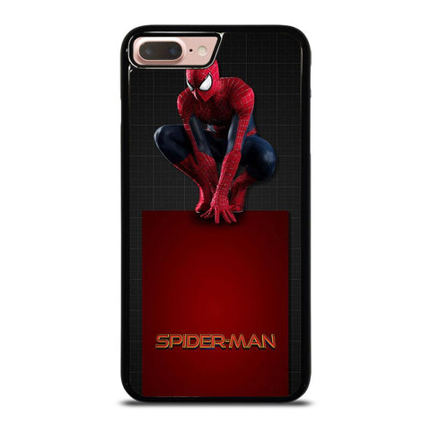 MARVEL SPIDERMAN SHOWING ACTION iPhone 8 Plus Case