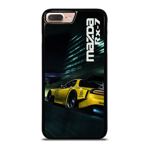MAZDA RX7 SPEEDRACER YELLOW iPhone 8 Plus Case