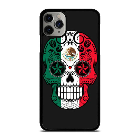 MEXICO SKULL SKELETON FLAG-iphone-11-pro-max-case
