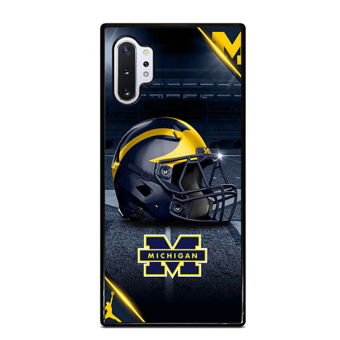 MICHIGAN WOLVERINES FOOTBALL 3 Samsung Galaxy Note 10 Plus Case