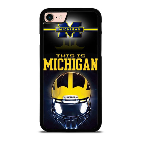 MICHIGAN WOLVERINES FOOTBALL-iphone-8-case