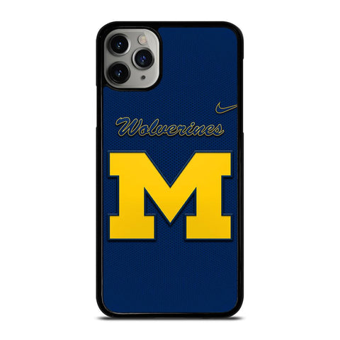 MICHIGAN WOLVERINES GO BLUE-iphone-11-pro-max-case