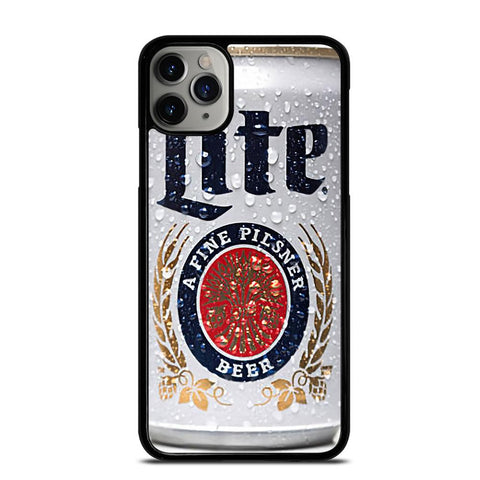 MILLER LITE BEER CAN-iphone-11-pro-max-case
