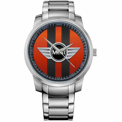 MINI COOPER LOGO-metal-watch
