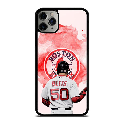 MOOKIE BETTS BOSTON RED SOX-iphone-11-pro-max-case
