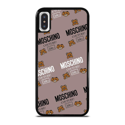 MOSCHINO COUTURE LOGO iPhone X / XS Case
