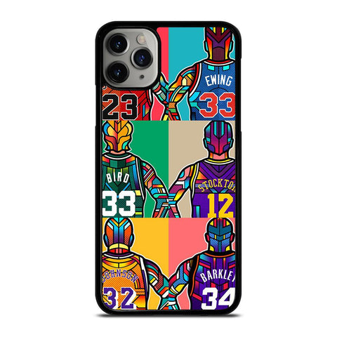 NBA LEGENDS ART iPhone 11 Pro Max Case