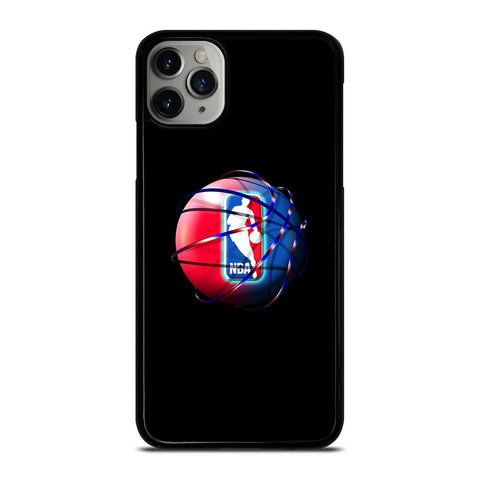 NBA LOGO COLORFUL BALL iPhone 11 Pro Max Case