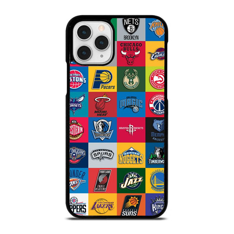 NBA TEAM COLLAGE-iphone-11-pro-case