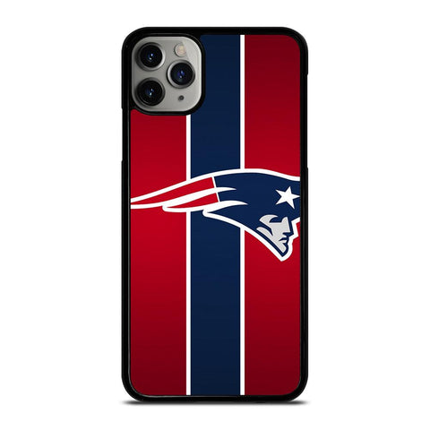 NEW ENGLAND PATRIOTS LOGO STRIPE iPhone 11 Pro Max Case