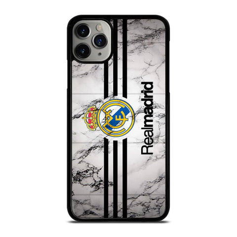 NEW REAL MADRID MARBLE LOGO-iphone-11-pro-max-case