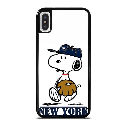 NEW YORK YANKEES SNOOPY iPhone X / XS Case