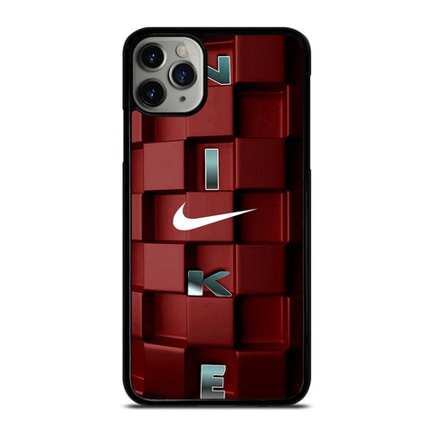NIKE BLOCKS RED iPhone 11 Pro Max Case
